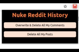 Reddit Yorumları Nasıl Silinir? Nuke Atma